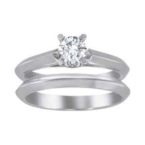 image of 31-B270 ENGAGEMENT RINGS_BRIDAL SETS WITH MATCHING BAND