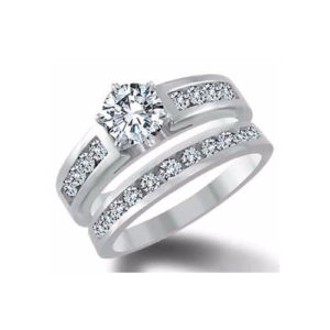 31-B288 ENGAGEMENT RINGS_BRIDAL SETS WITH MATCHING BANDS