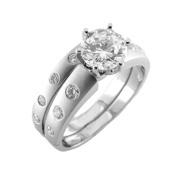 iamge of 31-B300 ENGAGEMENT RINGS_BRIDAL SETS WITH MATCHING BANDS