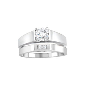 31-B306 ENGAGEMENT RINGS_BRIDAL SETS WITH MATCHING BANDS