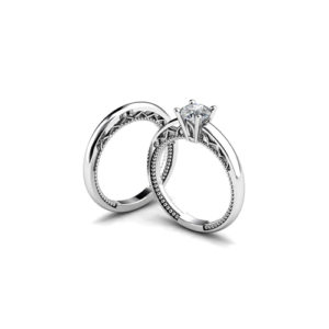 image of 31-B310 ENGAGEMENT RINGS_BRIDAL SETS WITH MATCHING BANDS