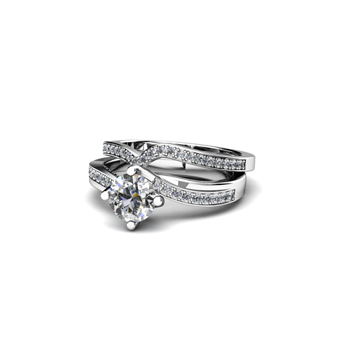image of 31-B311 ENGAGEMENT RINGS_BRIDAL SETS WITH MATCHING BANDS