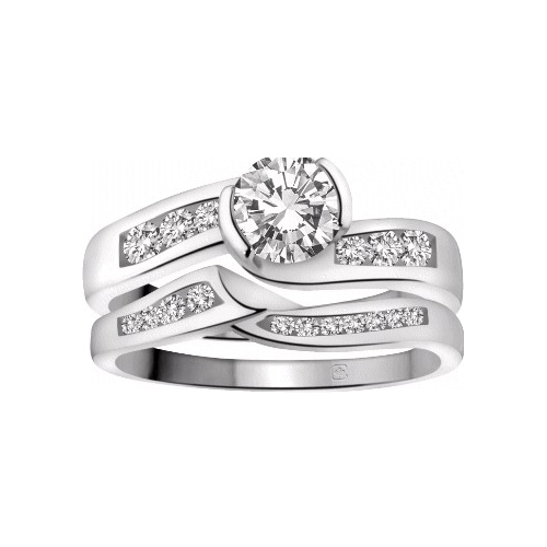 image of 31-B315 ENGAGEMENT RINGS_WITH MATCHING WEDDING BANDS