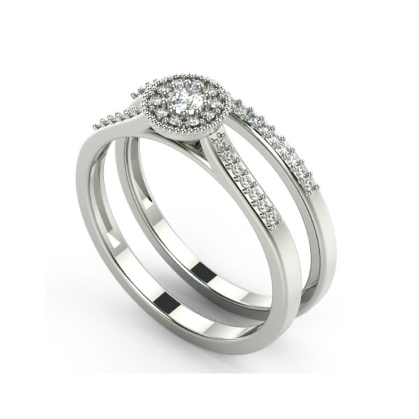 IMAGE OF 31-B316 PROMISE RINGS_AFFORDABLE BRIDAL SET