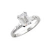 image of 31-E777 ENGAGEMENT RINGS_CLASSIC STYLE EMERALD CUT DIAMOND ENGAGEMENT RING