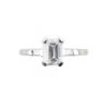 image of 31-E777A ENGAGEMENT RINGS_CLASSIC STYLE EMERALD CUT DIAMOND ENGAGEMENT RING
