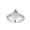 IMAGE OF 31-E889 ENGAGEMENT RINGS_CLASSIC STYLE PEAR SHAPE DIAMOND ENGAGEMENT RING