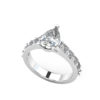 IMAGE OF 31-E889A ENGAGEMENT RINGS_CLASSIC STYLE PEAR SHAPE DIAMOND ENGAGEMENT RING