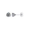 image of 51-3A-15 DIAMOND EARRING AND PENDANTS_3 PRONG 0.15CT. ROUND BRILLIANT CUT SOLITAIRE DIAMOND STUDS