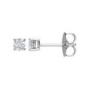 IMAGE OF 51-RD15 DIAMOND EARRING AND PENDANTS_0.15CT. ROUND BRILLIANT CUT SOLITAIRE DIAMOND STUDS