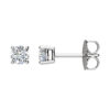 IMAGE OF 51-RD30 DIAMOND EARRING AND PENDANTS_0.30CT. ROUND BRILLIANT CUT SOLITAIRE DIAMOND STUDS