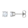 image of 51-RD80 DIAMOND EARRING AND PENDANTS_0.80CT. ROUND BRILLIANT CUT SOLITAIRE DIAMOND STUDS