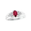 IMAGE OF 71-78 LADIES STONES RINGS_SAPPHIRE-RUBY OR EMERALD AND DIAMOND RING