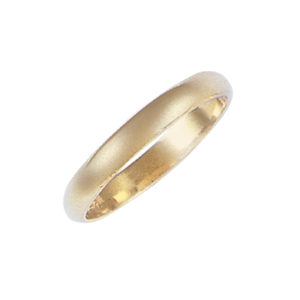 image of 11-100 Plain wedding bands_3mm dome shape high polished comfort fit