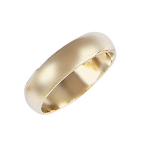 image of 11-102 Plain wedding bands_5mm dome shape high polished comfort fit