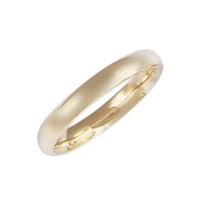 image of 11-104 Plain wedding bands_3.5mm dome shape high polished comfort fit