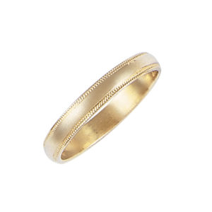 image of 11-108 Plain wedding bands_2mm low dome shape high polished comfort fit