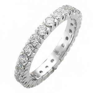 image of 33-502 DIAMOND BANDS_SET WITH 37 DIAMONDS WITH TOTAL WEIGHT OF HALF CARAT