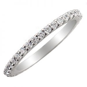 image of 33-508 DIAMOND BANDS_SET WITH 37 DIAMONDS WITH TOTAL WEIGHT OF HALF CARAT