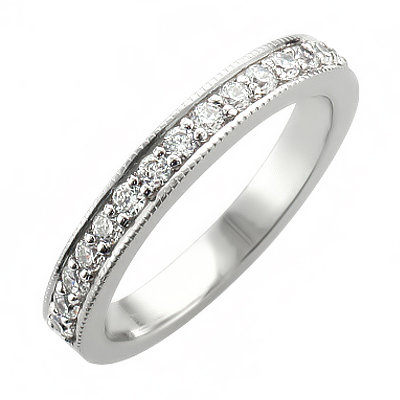 image of 33-509 DIAMOND BANDS_SET WITH 37 DIAMONDS WITH TOTAL WEIGHT OF 0.33 CARAT