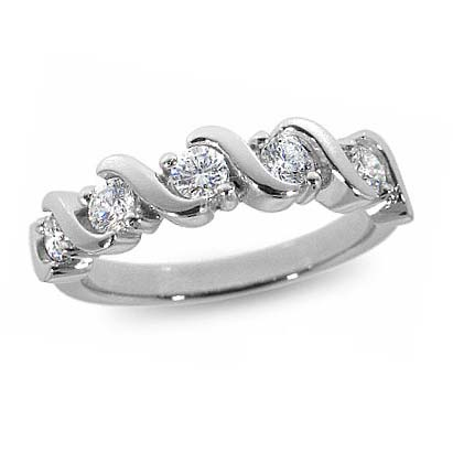 33-519 WEDDING RING_DIAMOND SET RING IDEAL FOR ANNIVERSARY OR AS BAND_21-HG188