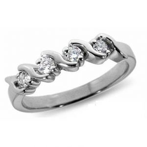 image of 33-520 WEDDING RING_DIAMOND SET RING IDEAL FOR ANNIVERSARY OR AS BAND_21-HG189