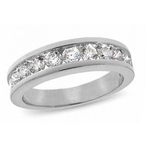 image of 33-524 WEDDING RING_DIAMOND SET RING IDEAL FOR ANNIVERSARY OR AS BAND_21-HG3383