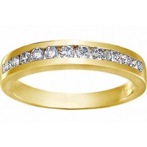 image of 33-525 WEDDING RING_DIAMOND SET RING IDEAL FOR ANNIVERSARY OR AS BAND_21-V400