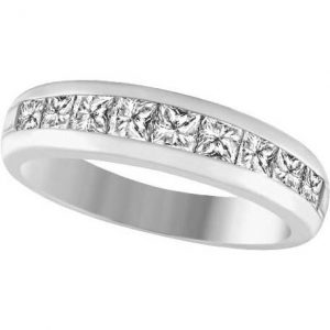 image of 33-528 WEDDING RING_DIAMOND SET RING IDEAL FOR ANNIVERSARY OR AS BAND