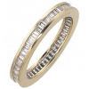 image of 33-539 WEDDING RING_FULL ETERNITY BAGUETTE DIAMOND SET RING IDEAL FOR ANNIVERSARY OR AS BAND