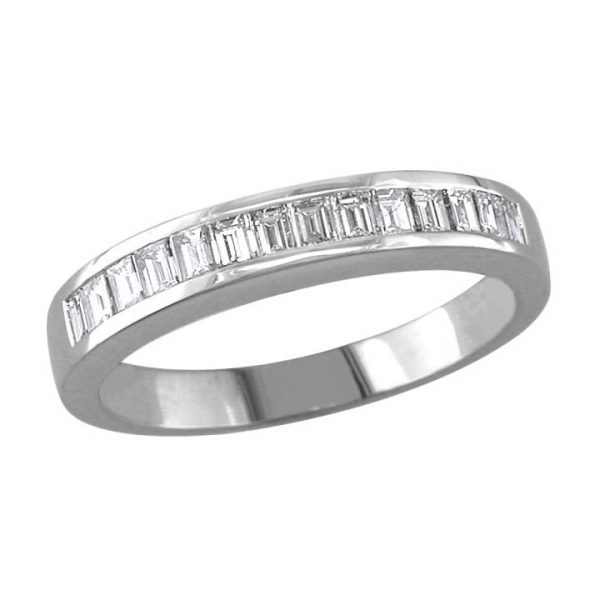 image of 33-542 WEDDING RING_DIAMOND SET RING IDEAL FOR ANNIVERSARY OR AS BAND