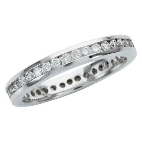 image of 33-547 WEDDING RING_DIAMOND SET RING IDEAL FOR ANNIVERSARY OR AS BAND