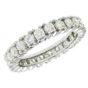 image of 33-548 WEDDING RING_DIAMOND SET RING IDEAL FOR ANNIVERSARY OR AS BAND