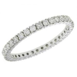 image of 33-552 WEDDING RING_DIAMOND SET RING IDEAL FOR ANNIVERSARY OR AS BAND