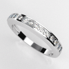 image of 33-553 WEDDING RING_DIAMOND SET RING IDEAL FOR ANNIVERSARY OR AS BAND