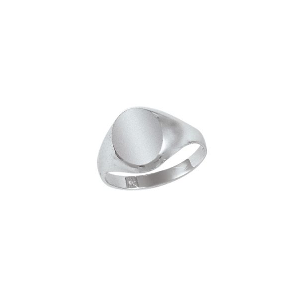 image of 40-1106W Signet ring_Young mans style white or yellow gold