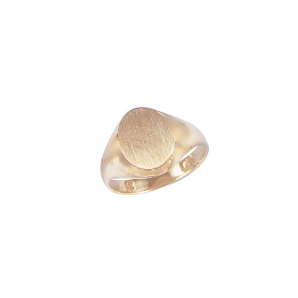 image of 40-1106Y Signet ring_Young mens style white or yellow gold