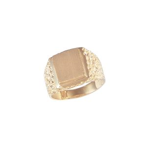 image of 40-201G Signet ring_Mans style-ideal for three initials