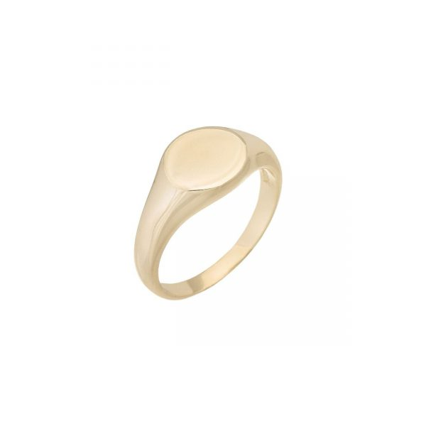 image of 40-201Y Signet ring_Ideal for boys and girls