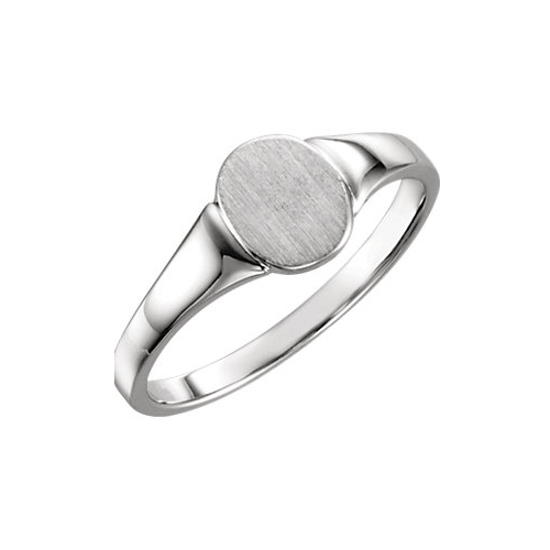 image of 40-GL250 Signet ring_Young girls style