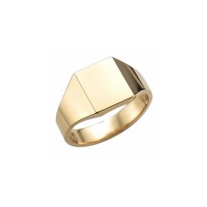 image of 40-RM268 SIGNET RINGS_YELLOW OR WHITE GOLD RECTALGULARE STYLE_ 5.97g in 14kt 8.6mm wide solid under