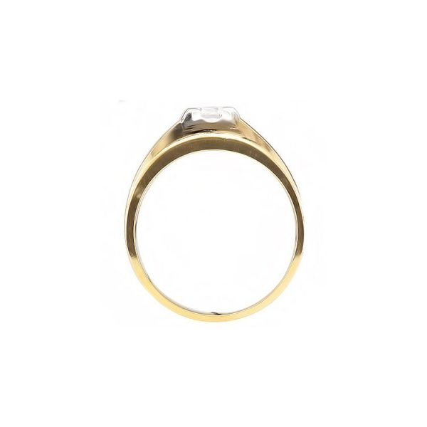 41-RM317A MAN DIAMOND RING_SOLITAIRE STYLE FOR GENTLEMEN, 0.35CT.