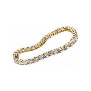 image of BR-D2020A Diamond bracelets_2ct-diamond-tennis-bracelet-14k-white-gold-2 Carat-Tennis-Bracelet
