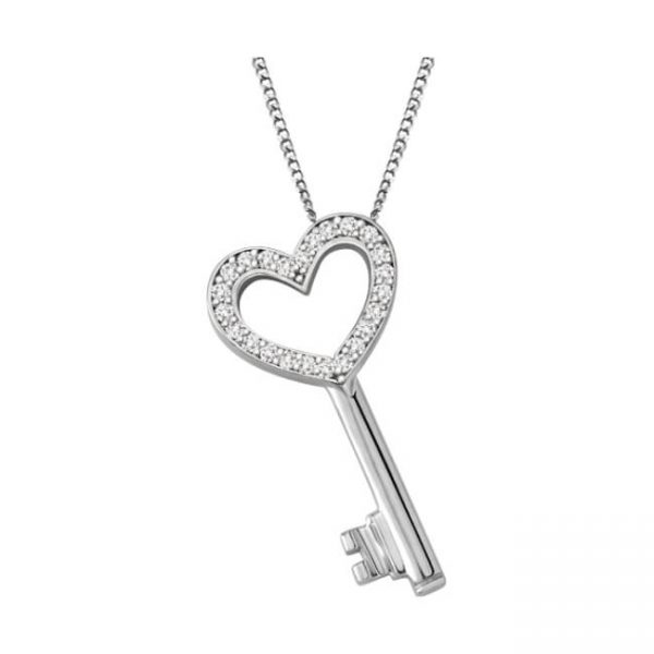 60-T600 Heart pendants_Key to your heart