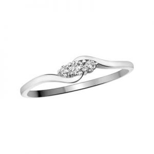 Image of All Diamond Promise Rings Category