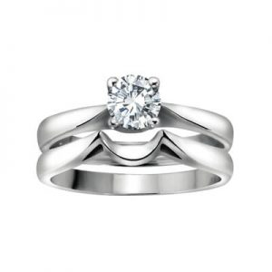Image of Engagement Rings Set Diamond Solitaire