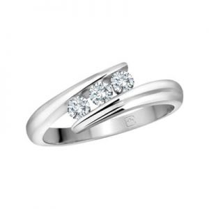 Image of Promise Ring Trinity Diamond Category