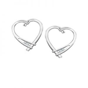 Image for Valentines Heart Shaped Earrings category