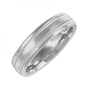 Image for Wedding band plain unisex Category Link